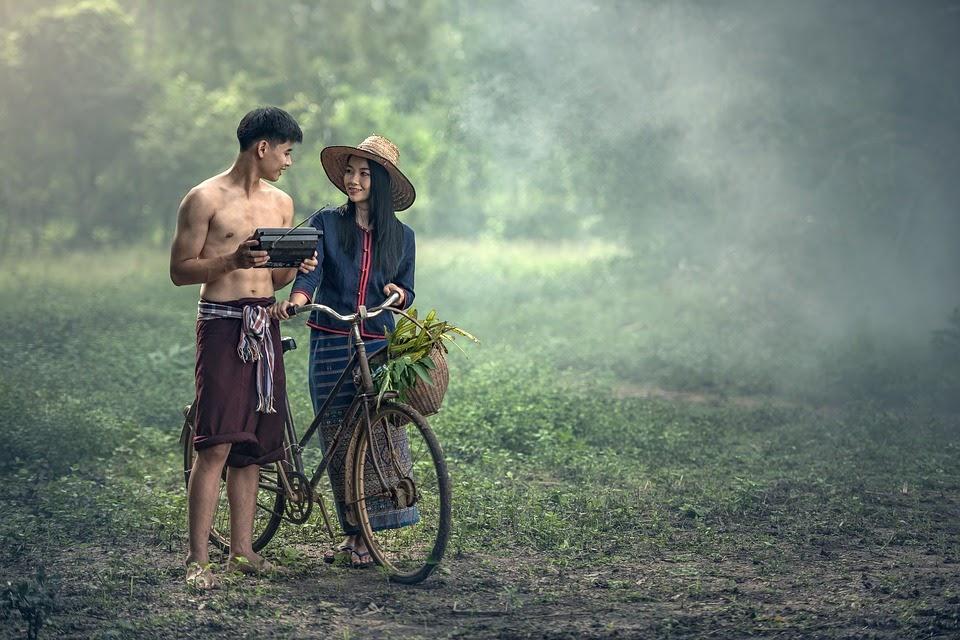 Man and woman inlove